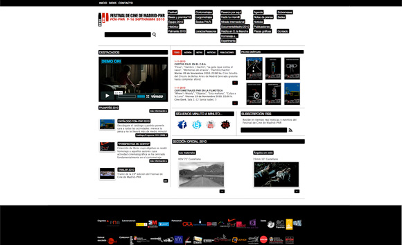 Festival de Cine de Madrid-PNR web
