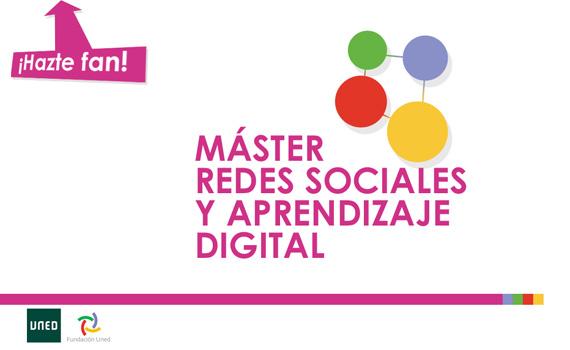 master en redes sociales y aprendizaje digital