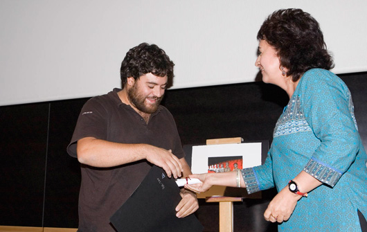 FCM-PNR 2010 entrega premios ORI