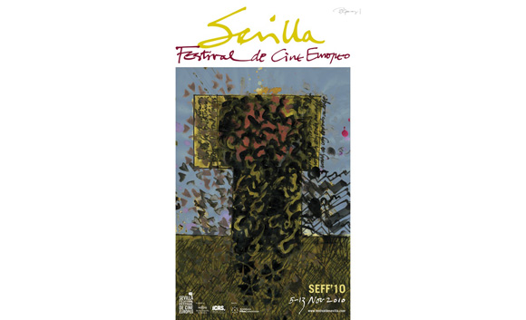 Cartel Festival de Cine de Sevilla 2010